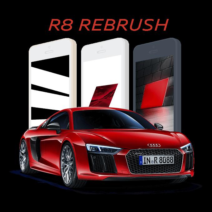 AUDI R8 rebrush
